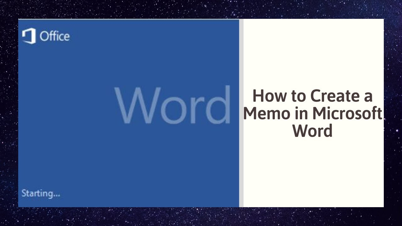 How To Create A Memo In Microsoft Word With Memo Template Word 2010
