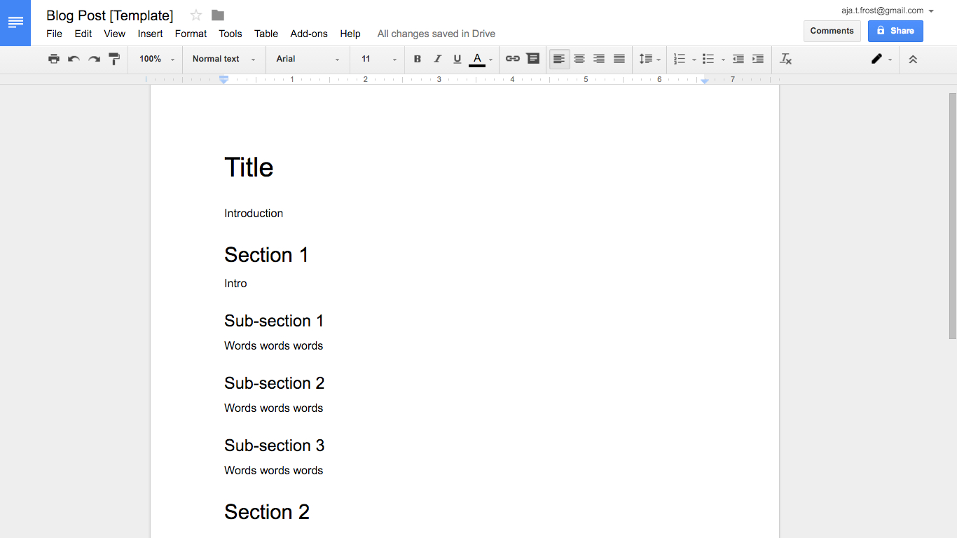 How To Create Effective Document Templates Intended For Google Word Document Templates
