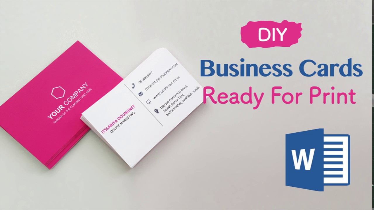 How To Create Your Business Cards In Word – Professional And Print Ready In  4 Easy Steps! Regarding Business Cards For Teachers Templates Free