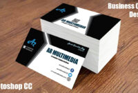 How To Design Business Card In Adobe Photoshop Cc|Graphic Design Business  Cards|Mockup Design with Create Business Card Template Photoshop
