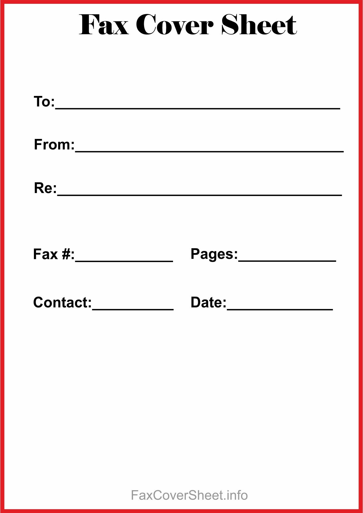 How To Find Blank Fax Cover Sheet Within Microsoft Word In Fax Cover Sheet Template Word 2010