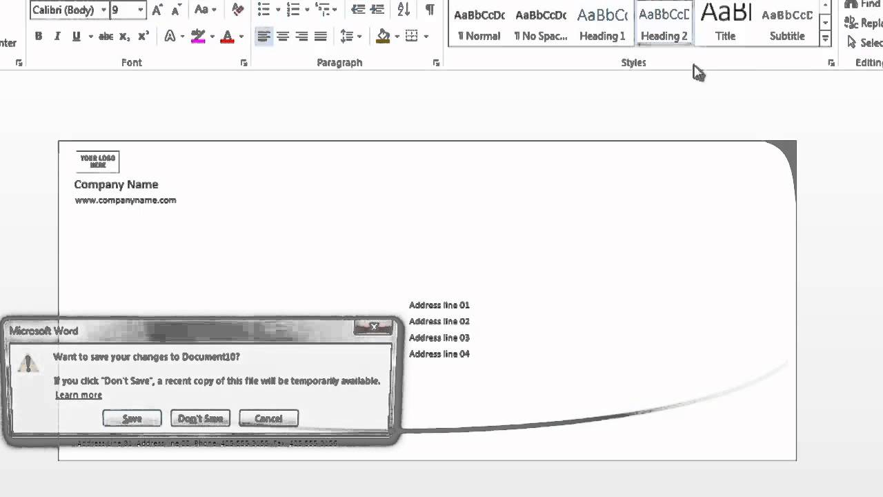 How To Format Envelopes On Microsoft Word : Using Microsoft Word With Regard To Word 2013 Envelope Template
