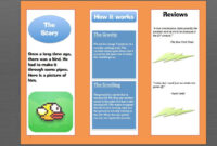 How To Make A Brochure In Microsoft Word | Photoshop | How with Ms Word Brochure Template