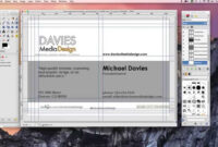 How To Make A Business Card In Gimp 2.8 inside Gimp Business Card Template