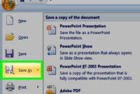 How To Make A Powerpoint Template: 12 Steps (With Pictures) for How To Save A Powerpoint Template