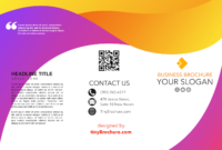 How To Make A Tri Fold Brochure In Google Docs in Brochure Template For Google Docs