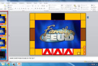 How To Make Powerpoint Games Family Feud in Family Feud Game Template Powerpoint Free