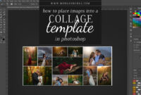 How To Place Images Into A Photoshop Collage Template in Photoshop Facebook Banner Template