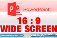 How To Set 16:9 Resolution In Powerpoint Presentation (Full Screen) with regard to Powerpoint Template Resolution