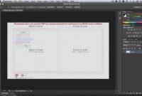 How To Use Cd Templates In Adobe Photoshop within Cd Liner Notes Template Word