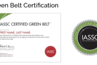 Icgb – Lean Six Sigma Green Belt Online Self Paced – 12 Months E-Learning  Access pertaining to Green Belt Certificate Template