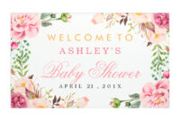 Ideas For Bridal Shower Banner Template With Description throughout Bridal Shower Banner Template