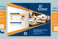 Illustrator Tutorial – Two Fold Business Brochure Template Part 01 intended for 2 Fold Brochure Template Free