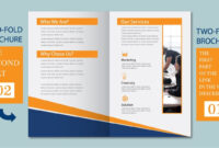 Illustrator Tutorial – Two Fold Business Brochure Template Part 02 with regard to 2 Fold Brochure Template Free