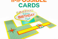 Impossible Card Templates: Super-Easy Pop-Up Cards throughout Free Printable Pop Up Card Templates