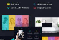 Innovation Creative Ppt For Design Agency Powerpoint Template throughout Biography Powerpoint Template