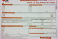 Inspections, Certification & Testing – Auber Electrical regarding Electrical Minor Works Certificate Template