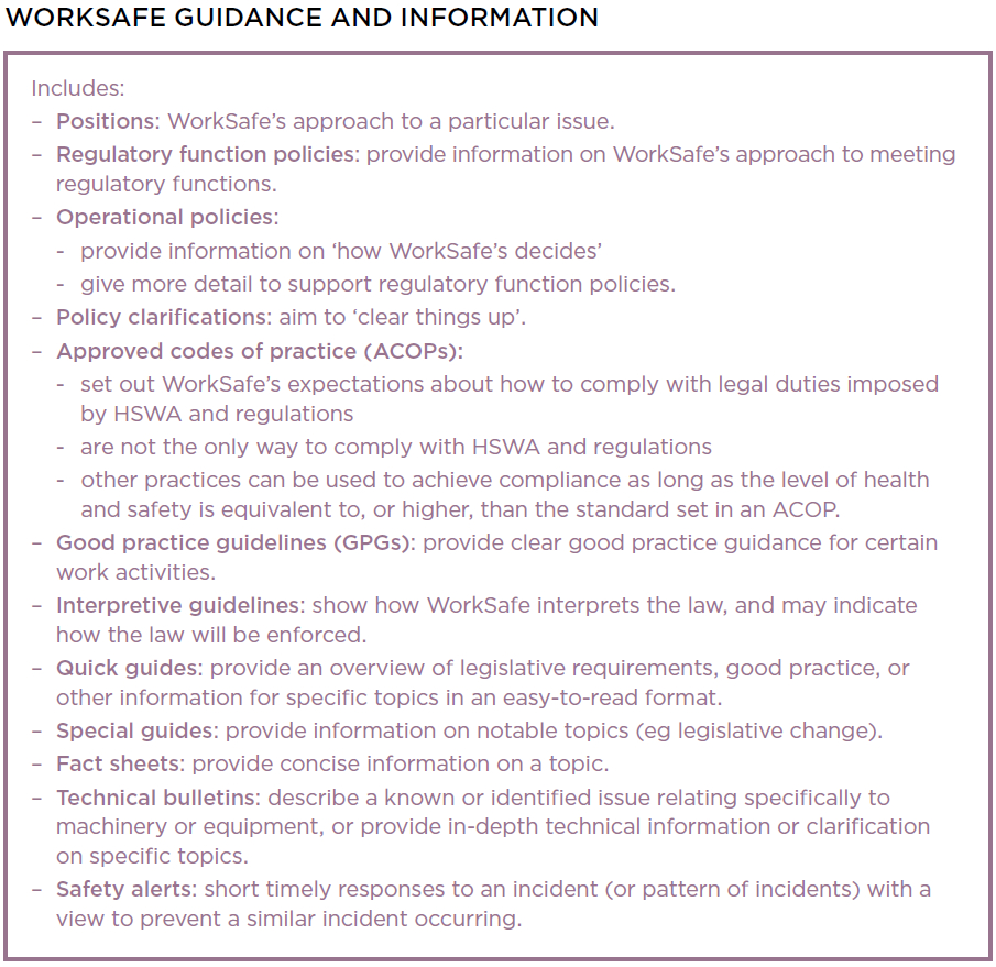 Introduction To The Health And Safety At Work Act 2015 In Ohs Monthly Report Template