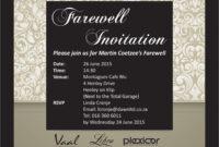Invitation Event Card | Invitationwww inside Event Invitation Card Template