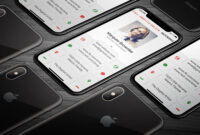 Iphone X Business Card #bleed#dpi#li#features | Business Inside Iphone Business Card Template