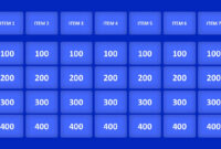 Jeopardy Game Powerpoint Templates with regard to Jeopardy Powerpoint Template With Score