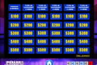 Jeopardy Powerpoint Template With Music | Games | Jeopardy for Jeopardy Powerpoint Template With Sound