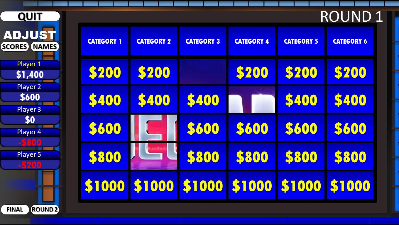 Jeopardy! | Rusnak Creative Free Powerpoint Games With Jeopardy Powerpoint Template With Score