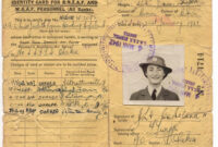 Judith Lynn Copeland – Online Cenotaph – Auckland War With Regard To World War 2 Identity Card Template
