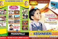 Krishnaveni Telent School Brochure Design Template pertaining to School Brochure Design Templates