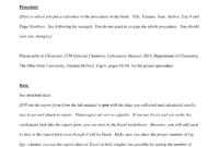 Lab Report Example – Osu Chemistry intended for Lab Report Template Chemistry