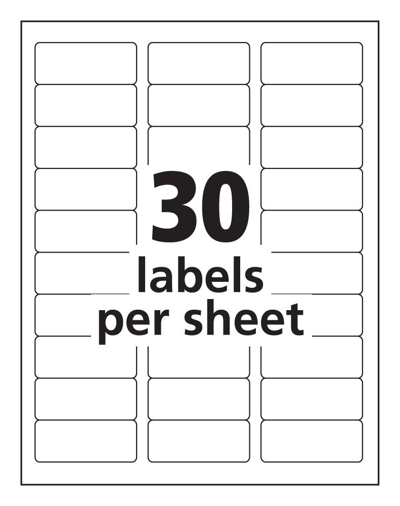 Label Templates 30 Per Sheet – Corto.foreversammi Pertaining To Word Label Template 12 Per Sheet