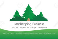 Landscaping Business Card Template throughout Landscaping Business Card Template