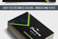 Landscaping – Business Card Templates Psd regarding Landscaping Business Card Template
