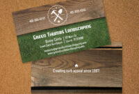 Landscaping Business Card | Vistaprint | Avery Business with regard to Landscaping Business Card Template