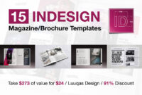 Last Chance: 15 Indesign Magazine & Brochure Templates with regard to Fancy Brochure Templates