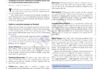 Latex Templates » Academic Journals throughout Academic Journal Template Word