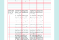 Layout Design: Types Of Grids For Creating Professional within 3 Column Word Template