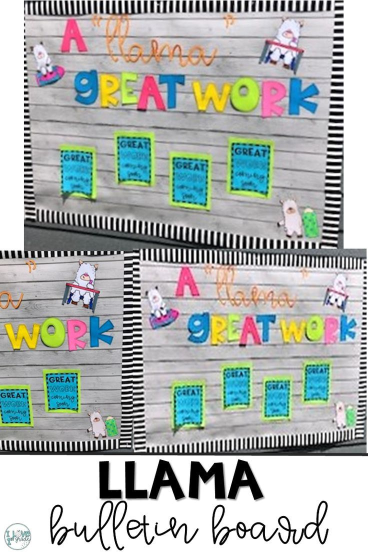 Llama Bulletin Board | Classroom, Classroom Themes, Bulletin Intended For Bulletin Board Template Word