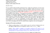 Local Eligibility Agreed-Upon Procedures Report Template 2015 for Agreed Upon Procedures Report Template