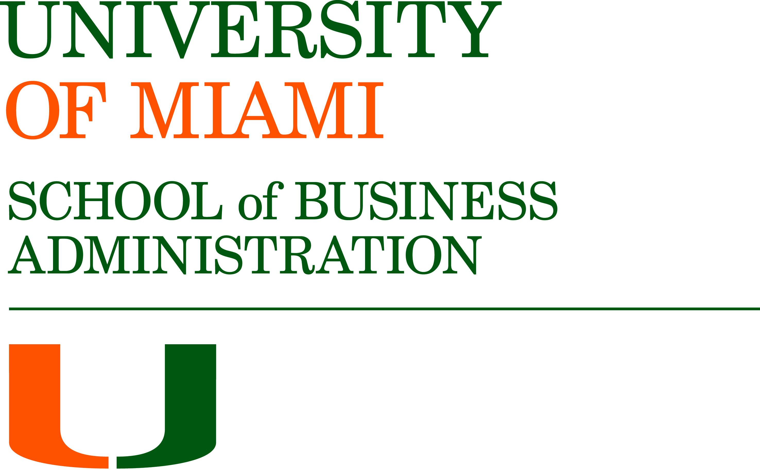 Logos And Templates : University Of Miami School Of Business Within University Of Miami Powerpoint Template