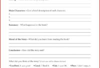 Lovely 4Th Grade Book Report Template | Job Latter inside Book Report Template 5Th Grade