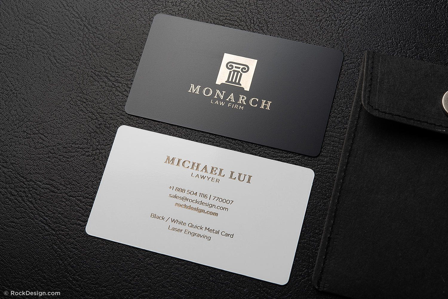 Luxury Metal Law Firm Free Black And White Business Card Inside Lawyer Business Cards Templates
