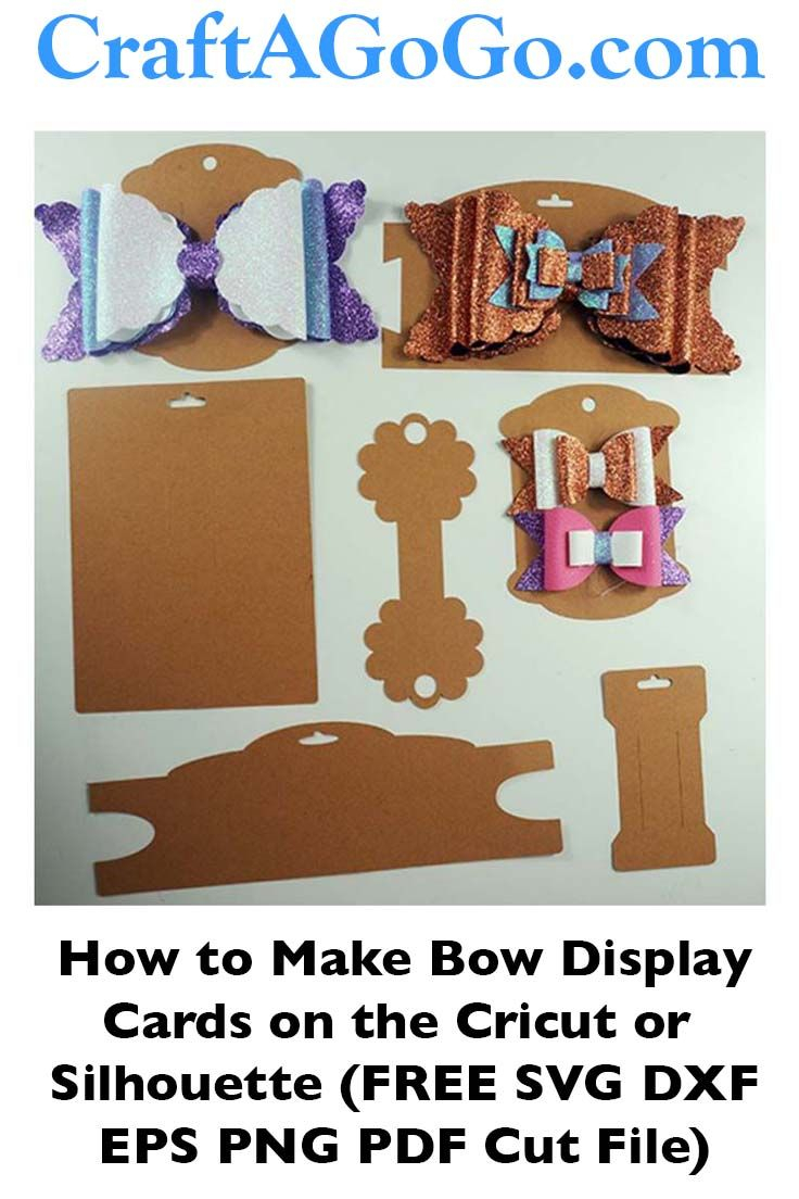 Making Bow And Headband Display Cards On The Cricut – Svg In Headband Card Template