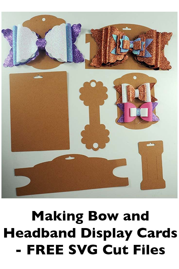 Making Bow And Headband Display Cards On The Cricut – Svg With Regard To Headband Card Template