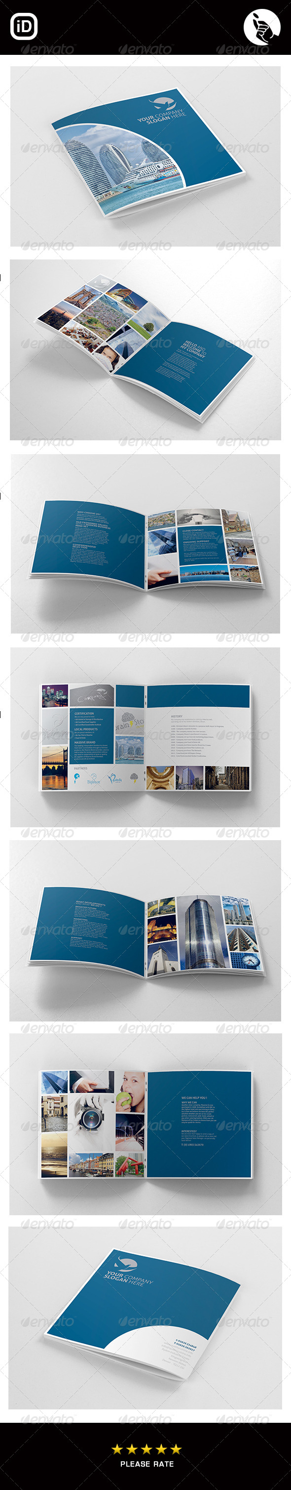 Marketing Brochure Templates From Graphicriver (Page 7) Within 12 Page Brochure Template