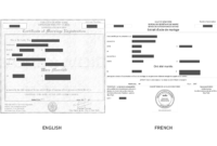 Marriage Certificate Translation Sample – Richard Gliech for Marriage Certificate Translation Template