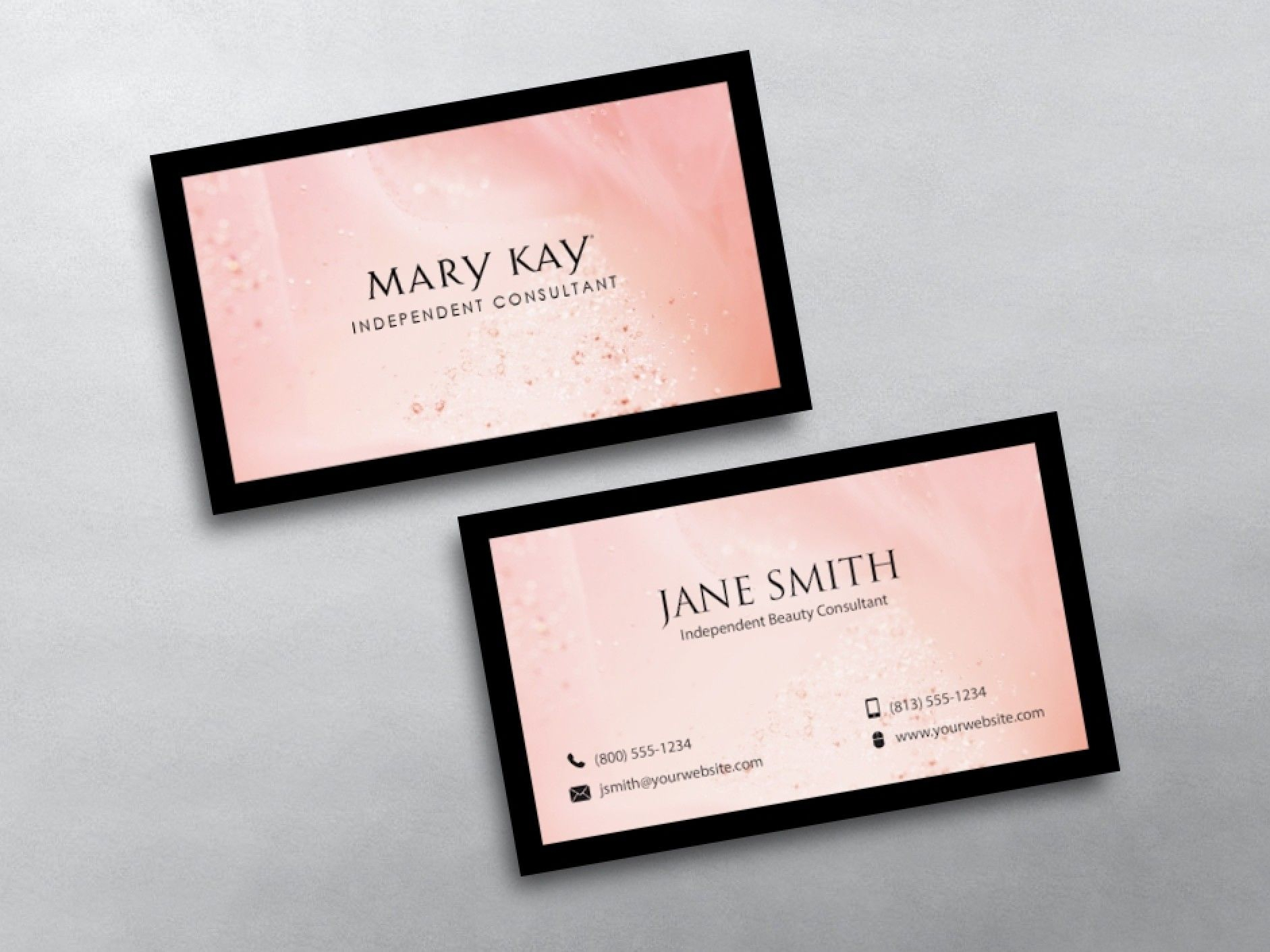 Mary Kay Business Cards In 2019 | Mary Kay, Business Card Throughout Mary Kay Business Cards Templates Free
