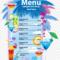 Menu Transparent Background – Cocktail Menu Design, Hd Png Pertaining To Cocktail Menu Template Word Free