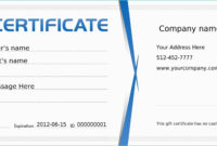 Microsoft Publisher Gift Certificate Template – Teplates For for Gift Certificate Template Publisher