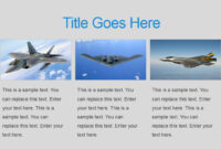 Military Powerpoint Template in Air Force Powerpoint Template
